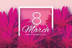 Seamlessly, International Women's Day is celebrated on March of every year. It is a focal point in the movement for women's rights. Holiday Images, Holiday Pictures, Happy Woman Day, Happy Women, 8th Of March, February, Top Photographers, Worlds Of Fun, Ladies Day