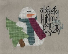 ABC Sno - Angel Stitchin'