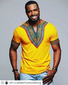 Modern African Clothing for Men! Shop our full selection of men's dashikis, African print bow ties, and African print tops. African American Fashion, African Print Fashion, Africa Fashion, African Fashion Dresses, African Prints, African Fashion For Men, African Attire For Men, African Outfits, Ankara Fashion