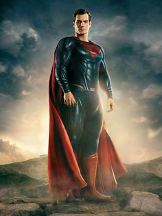 """Henry Cavill as Superman in Zack Snyder's """"Justice League"""" (2017). - visit to grab an unforgettable cool 3D Super Hero T-Shirt!"""
