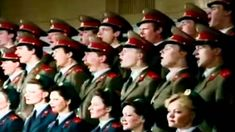 Russian Red Army Choir ~ В Путь (V Put),(Let's Go),(On The March):: I can't help myself - this is terribly stirring. Gets me every time, despite the desperately tragic history. What do you think?