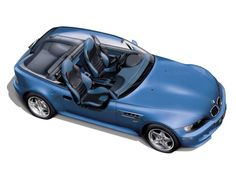 BMW Intro for 1998 M Coupe Press Kit Cutaway Illustration