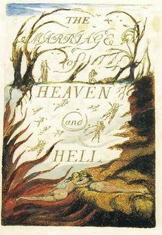 """""""Matrimonio del cielo y el infierno"""" William Blake"""