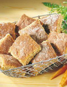Leipäruudut | Leivät ja sämpylät | Pirkka Bread Rolls, Cornbread, Bread Recipes, French Toast, Baking, Breakfast, Ethnic Recipes, Breads, Food