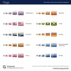 World Flag Icon Set