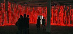 Tsang Kin Wah, projections, sydney 17 biennale, red light