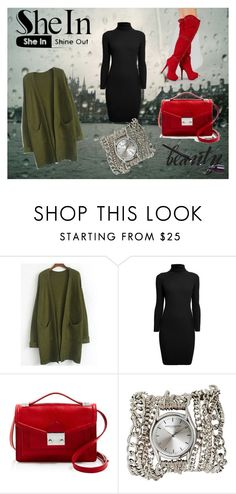 """""""red beauty"""" by tamara-sucha on Polyvore featuring Rumour London, Loeffler Randall and Sara Designs"""