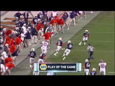 ▶ Chris Davis Returns Field Goal Miss For Game Winning TD Iron Bowl 2013 Auburn vs. Alabama Radio Call - YouTube