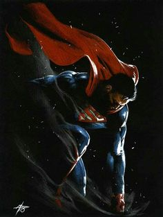 Superman by Gabriele Dell'Otto