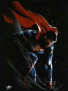 Superman by Gabriele Dell'Otto