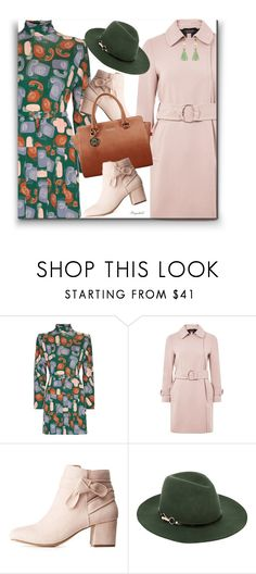 """Fall Dress for NYFW"" by ragnh-mjos ❤ liked on Polyvore featuring Miu Miu, Topshop, Charlotte Russe, Monsoon and Atelier Mon"