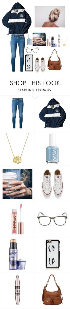 """""""Untitled #214"""" by hannamak ❤ liked on Polyvore featuring MICHAEL Michael Kors, Essie, Floss Gloss, Converse, Urban Decay, Cutler and Gross, Benefit, Kate Spade, Maybelline and women's clothing"""