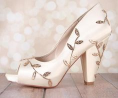Image result for block heel wedding shoes