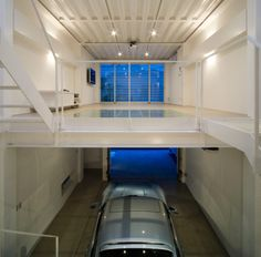 This Amazing Home in Tokyo Features the Coolest Car Lift Ever