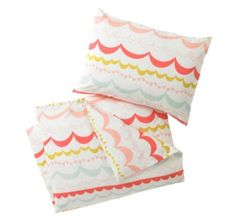 DwellStudio Full/Multi Garland Duvet Set