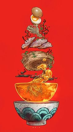 Tonkatsu Ramen Print From Paul Reinwand In Art Art - Tonkatsu Ramen Print From Paul Reinwand April Tonkatsu Ramen Print C B Paul Reinwand C B Online Store Powered By Storenvy Tonkatsu Ramen Aesthetic Painting Aesthetic Art Illustration Art Japon Illustration, Digital Illustration, Space Illustration, Fantasy Illustration, Character Illustration, Arte Obscura, Art Japonais, Anime Kunst, Animes Wallpapers