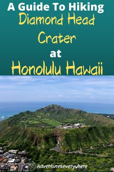 Here is the ultimate guide to hiking Daimond head located in Oahu Hawaii Hawaii Usa, Honolulu Hawaii, Hawaii Travel, Packing List For Vacation, Vacation Trips, Best Travel Guides, Travel Tips, Hawaii Adventures, Waikiki Beach