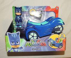New PJ Masks Catboy Cat Car Blue Disney Junior Super Hero  #Disney