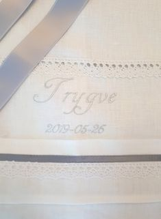 Baptism Gown, Christening Gowns, Embroidery Monogram, Embroidery Fonts, Embroidery Services, Old Dresses, Baptism Dress, Christening Outfit, Embroidery Letters