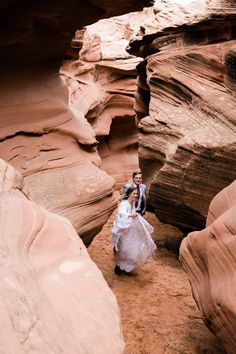 Curious about an Antelope Canyon Wedding? This slot canyon elopement in Page, Arizona is the perfect inspiration for your antelope canyon wedding dreams! Wedding Dreams, Dream Wedding, Slot Canyon, Antelope Canyon, Arizona, Destination Wedding, National Parks, Wedding Photos