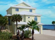 Private Homes Vacation Rental - VRBO 337178 - 5 BR Navarre Beach House in FL, Waterfront Home - Luxurious Retreat