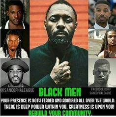 Dear Black Men,