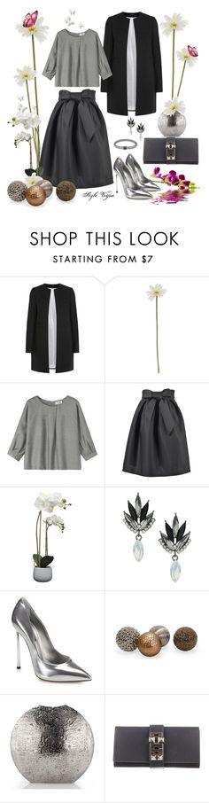 """""""Classic in gray"""" by lamipaz ❤ liked on Polyvore featuring moda, Joseph, Linea, Toast, House by John Lewis, Topshop, Casadei, Hermès, John Hardy e women's clothing"""