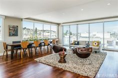 Gorgeous penthouse smack dab in the middle of the Mission. Beautiful modern architecture. More information about this listing at 49doors.com #sanfranciscorealestate #sanfrancisco