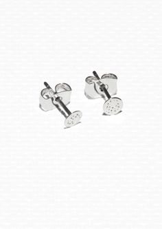 & other stories Fossil stud earrings £7