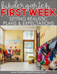 If you're looking for a way to start the first week of kindergarten, I have some tips for you! Planning can be tricky but with a few of my ideas your students are sure to feel safe and start enjoying themselves that first day. Check out my blog post to see how to reassure both students and parents on that emotional first day!
