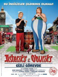 Asteriks ve Oburiks Gizli Görevde Türkçe Dublaj izle