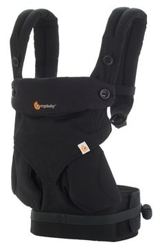 Highly acclaimed Ergo baby carrier; padded shoulders and hip straps. $160 at Nordstrom