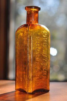 John Wyeth& Bro Antique Medicine Bottle