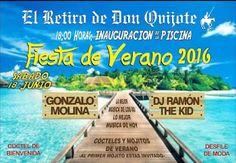 Fiesta de Verano 2016 - El Retiro de Don Quijote - Sábado, 18 de Junio de 2016