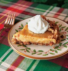 Dolly's Butterscotch Pie This delicious concoction is one of Dolly Parton's favorite holiday desserts.