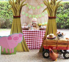 Barnyard Buddies Birthday Party by Julie Verville