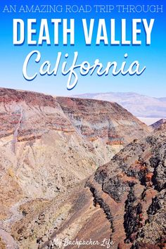 Going on a Death Valley road trip is one of my fondest memories from our USA road trip. Taking a Death Valley road trip was just enough time to check everything off our list - what an incredible… Usa Travel Guide, Travel Usa, Travel Guides, Travel Tips, Canada Travel, Travel Advice, Travel Destinations, Death Valley Road, Death Valley California