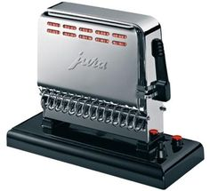 this beauty is ready to toast your bread Shops, Swiss Design, Wishing Well, Espresso Machine, Chrome, Art Deco, Kitchen Appliances, Toasters, Authentique