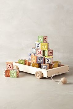 Anthropologie Alphabet Wagon  Holiday Essentials for Kids | The Staten Island family
