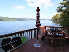 Beautiful 4bd + Den Home With Modern Convenience, Stunning Views, and Lake Fun!   Vacation Rental in Middlesex from @homeaway! #vacation #rental #travel #homeaway