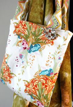 Fat Quarter Bag FREE project from Art Gallery Fabrics
