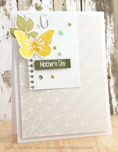 limedoodle, CSC130, Hero Arts and Clearly Besotted Stamps, Lil' Inker Designs and Clearly Besotted Stamps dies, Mother's Day, card