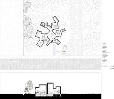 Image 25 of 25 from gallery of House O / Jun Igarashi Architects. Floor Plan, Section