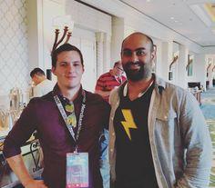 Met Maneesh Sethi  Maneesh / @Maneesh and he told me about his Pavlok. It seems awesome.