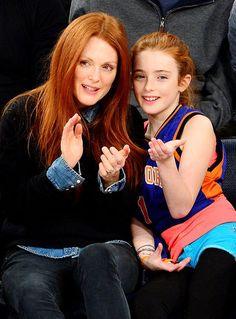 Julianne Moore & daughter Liv
