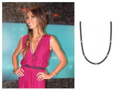 Hematite Link Chain Necklace - on sale for $35.55 through 11/25. As seen on E!'s Giuliana Rancic and the TODAY Show's Natalie Morales!
