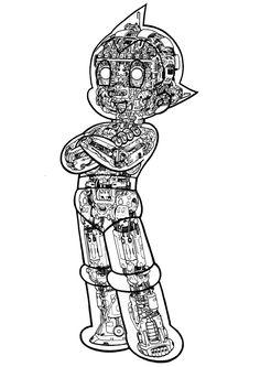 鉄腕アトム透視図