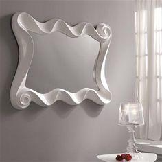 White Mirror, 84 x 115 x 12cm