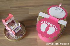 Geldgeschenk Geschenkgutschein Kinderwagen Geburt Baby Taufe