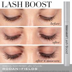 9871a7f053a Rodan and Fields is launching a new product! Lash Boost and it's available  now! This product gives you longer, fuller, darker looking lashes!